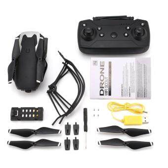 PKPNS X12 4CH RC Foldable D*rone Q*uadcopter Altitude Hold with Wifi Camera Live Video