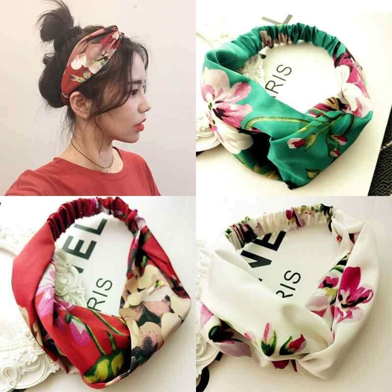 5653bc72589 Vigo 3pcs White Red Green Different Patterns Women Cute Bow Hairband Turban  Knotted Rabbit