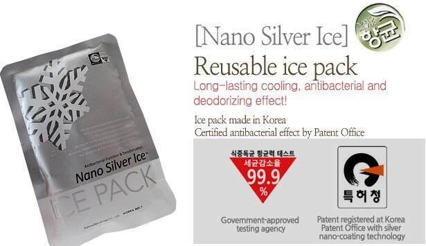 [SpeCtra Baby Korea] Nano Silver Gel Ice Pack
