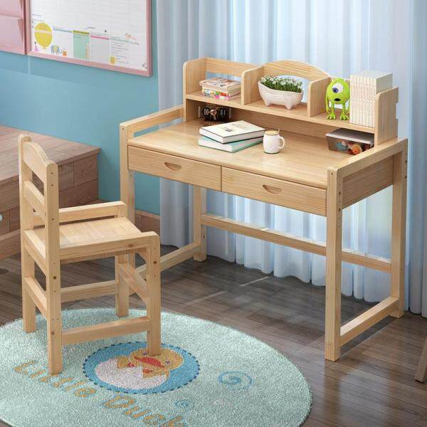 Olive Al Home Children Study Table Multi-function Study Desk In Room
