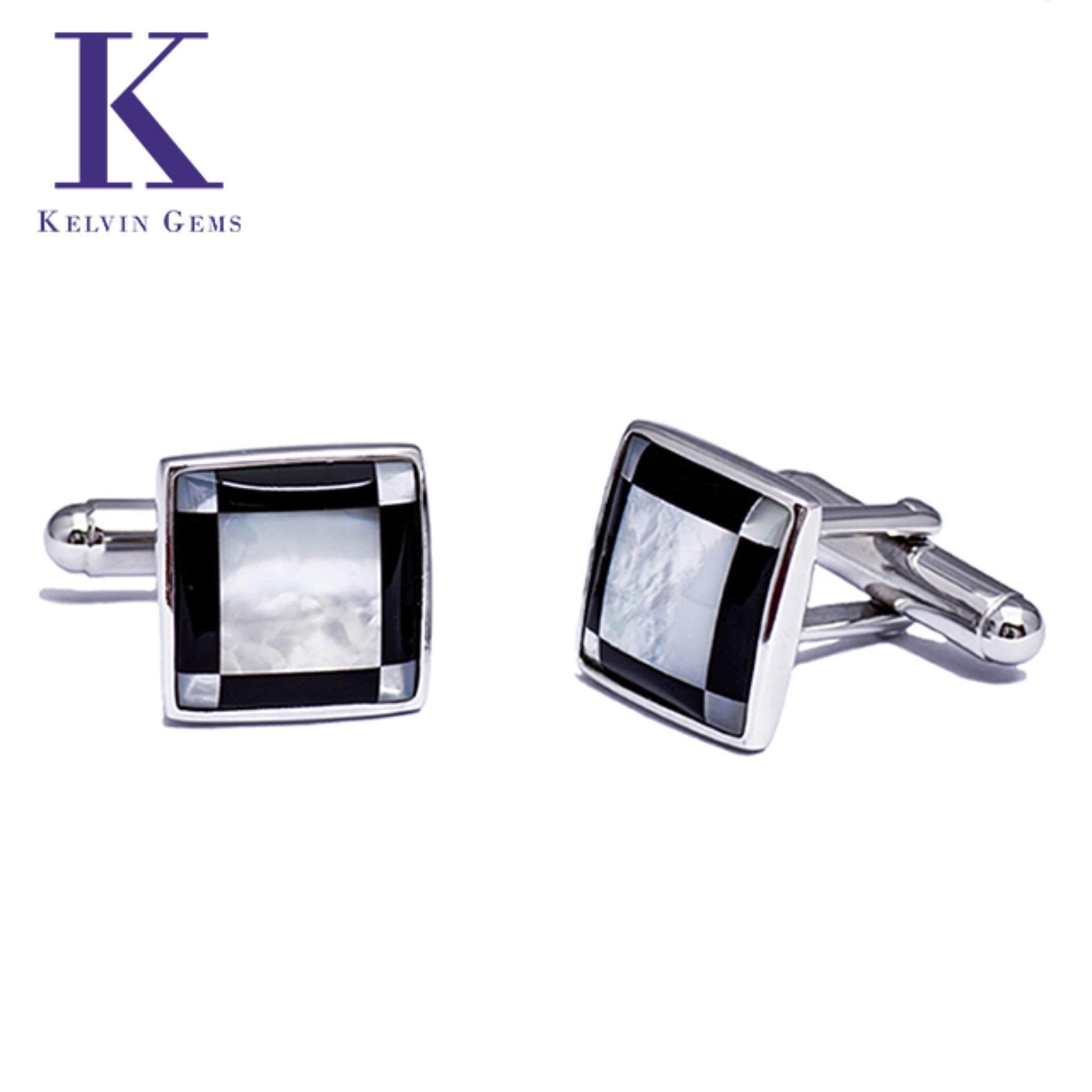 Kelvin Gems Chryses Cufflinks