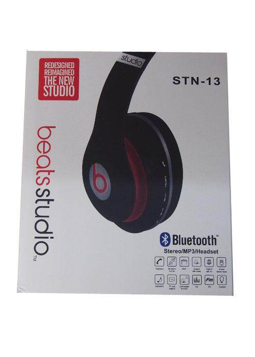 Detail Gambar Wireless Bluetooth Headset Beats ( STN 13)-Black Terbaru