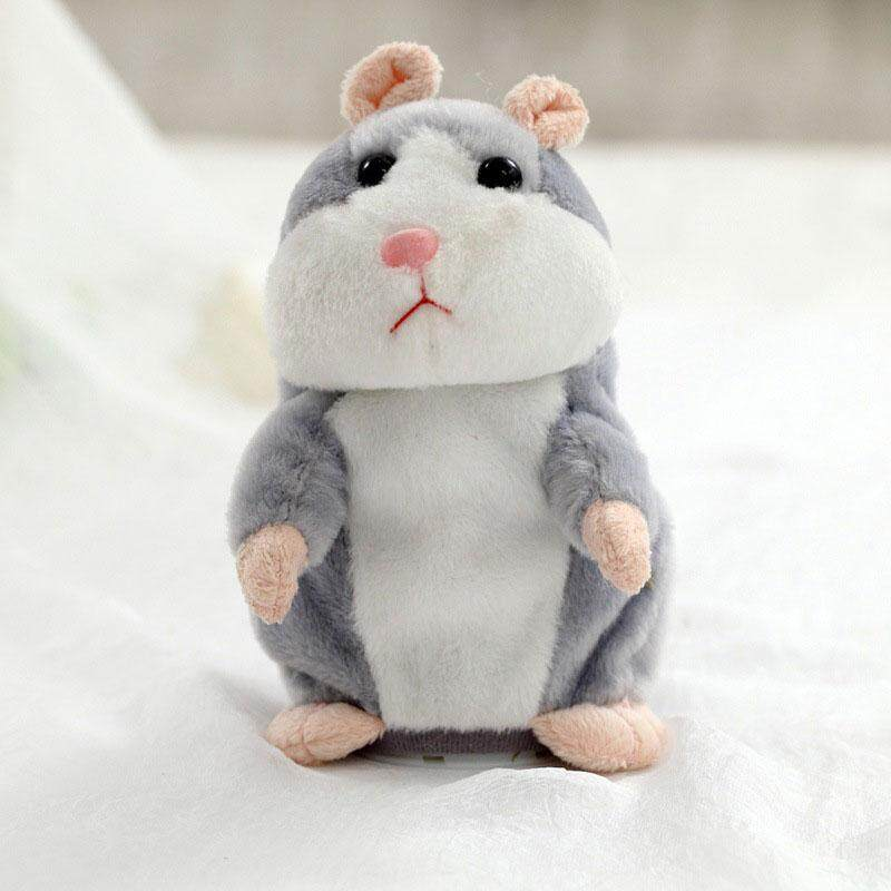Hình ảnh Lovely Talking Hamster Plush Toy Kids Christmas Gifts Speak Sound Record Toys
