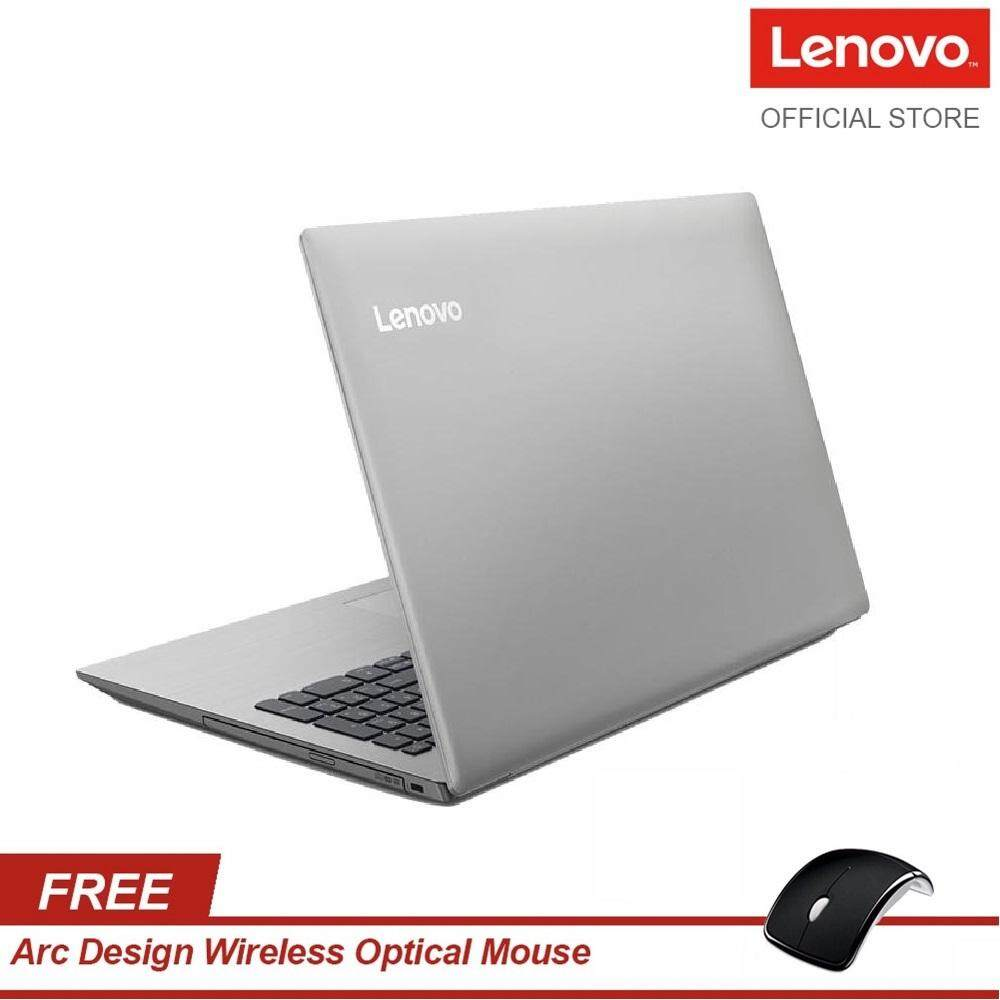 Lenovo Ideapad 330-15AST 81D6003HMJ Notebook (A9-9425/4GB/1TB/W10H/2Yr Premiumcare onsite) - Free Lenovo 15 Carrying Case (888015205) + Wireless Mouse Malaysia
