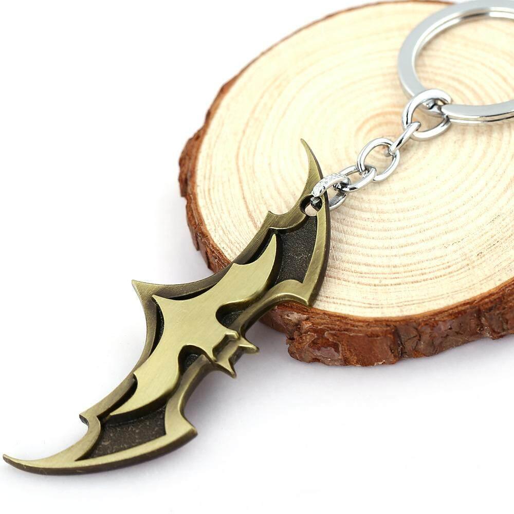 3D Batman Logo Keychain 2(Bronze)
