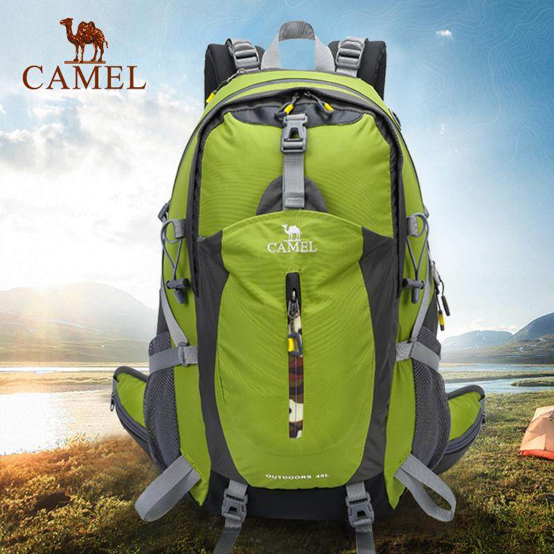 c0baf7cf683 CAMEL 40L Waterproof Outdoor Sport Riding Backpack Hiking Trekking Camping  Travel Pack Mountaineering Climbing Knapsack,