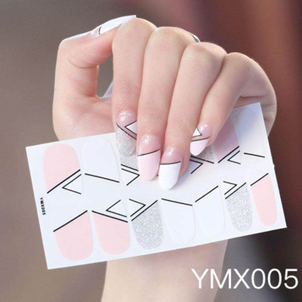 BLY All-finger Sticker Korean Version Waterproof Durable Child Nail Sticker Environmental Nail Sticker Water Transfers Stickers Colorful Designs Decal DIY Nail Art Foil Tips Stencil Philippines