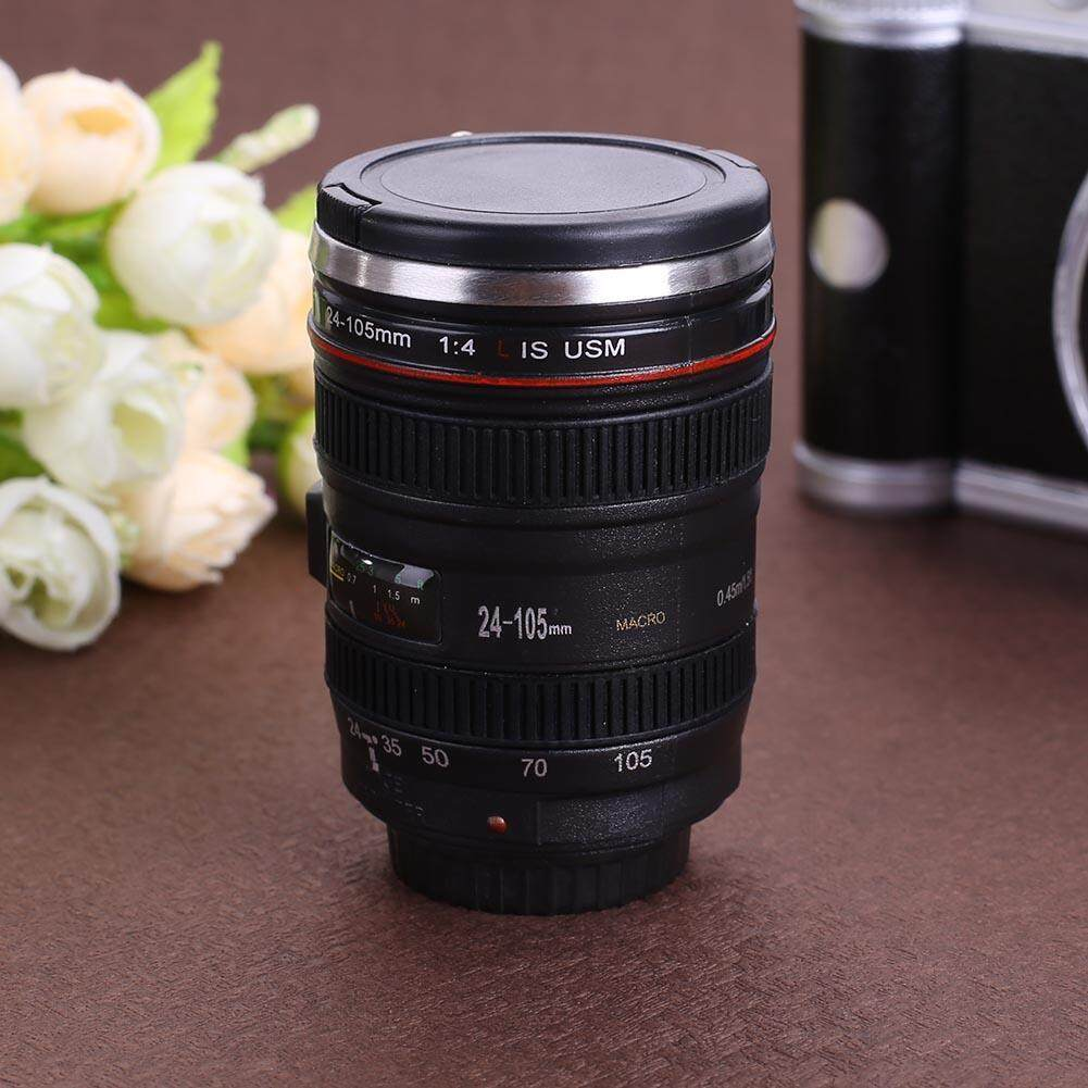 Fitur 50ml Creative Camera Lens Cup Mini Tea Mug Water Bottle Home Canon Ef Gelas Drinkware Intl 4