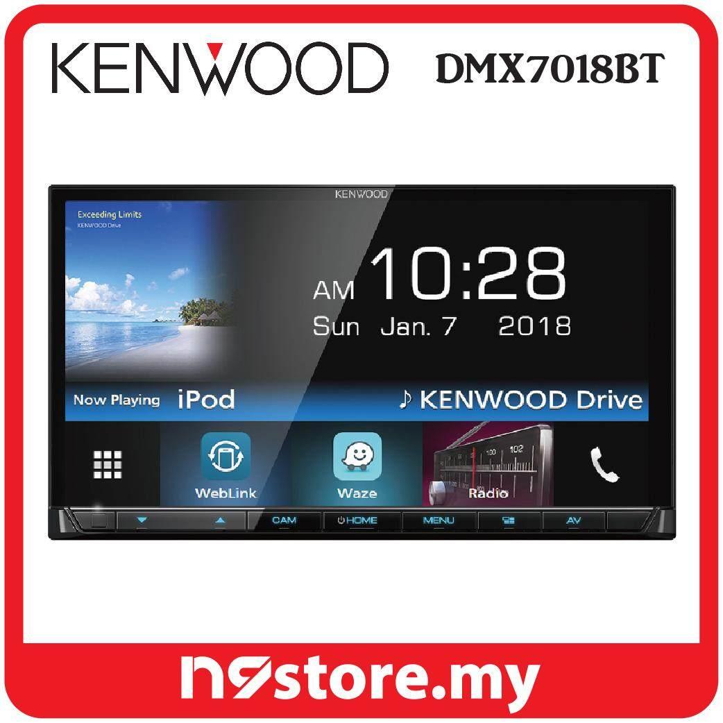 "Kenwood DMX7018BT 7"" Mechless Waze Nav-App Weblink Bluetooth Double DIN Receiver"