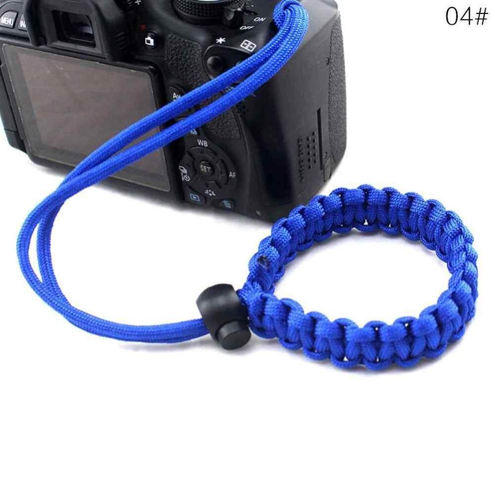Yuchen 19 Warna Tali Pergelangan Kamera Pegangan Tangan Outdoor Adjustable Tali Parasut Lanyard Kamera Gelang