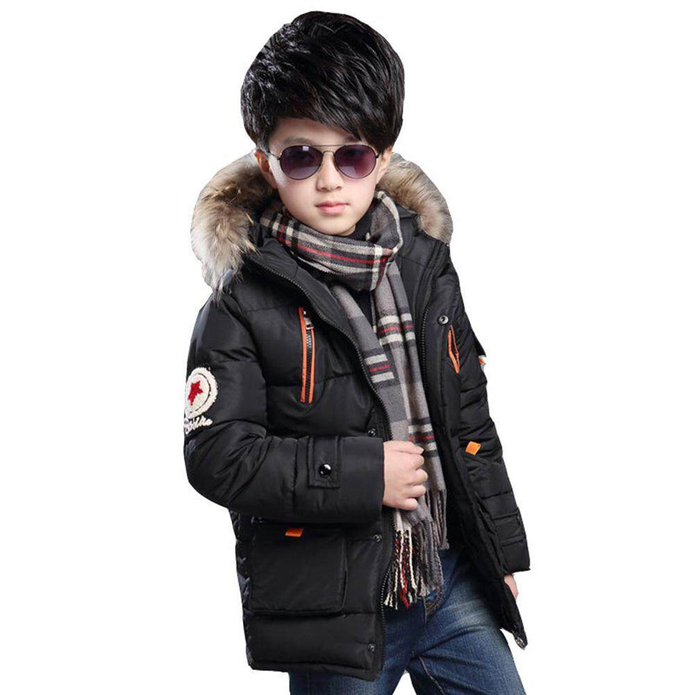 6875739cc851 Veecome Baby Boys Winter Warm Coat Cotton-padded Jacket Long Sleeve Tops For  5-