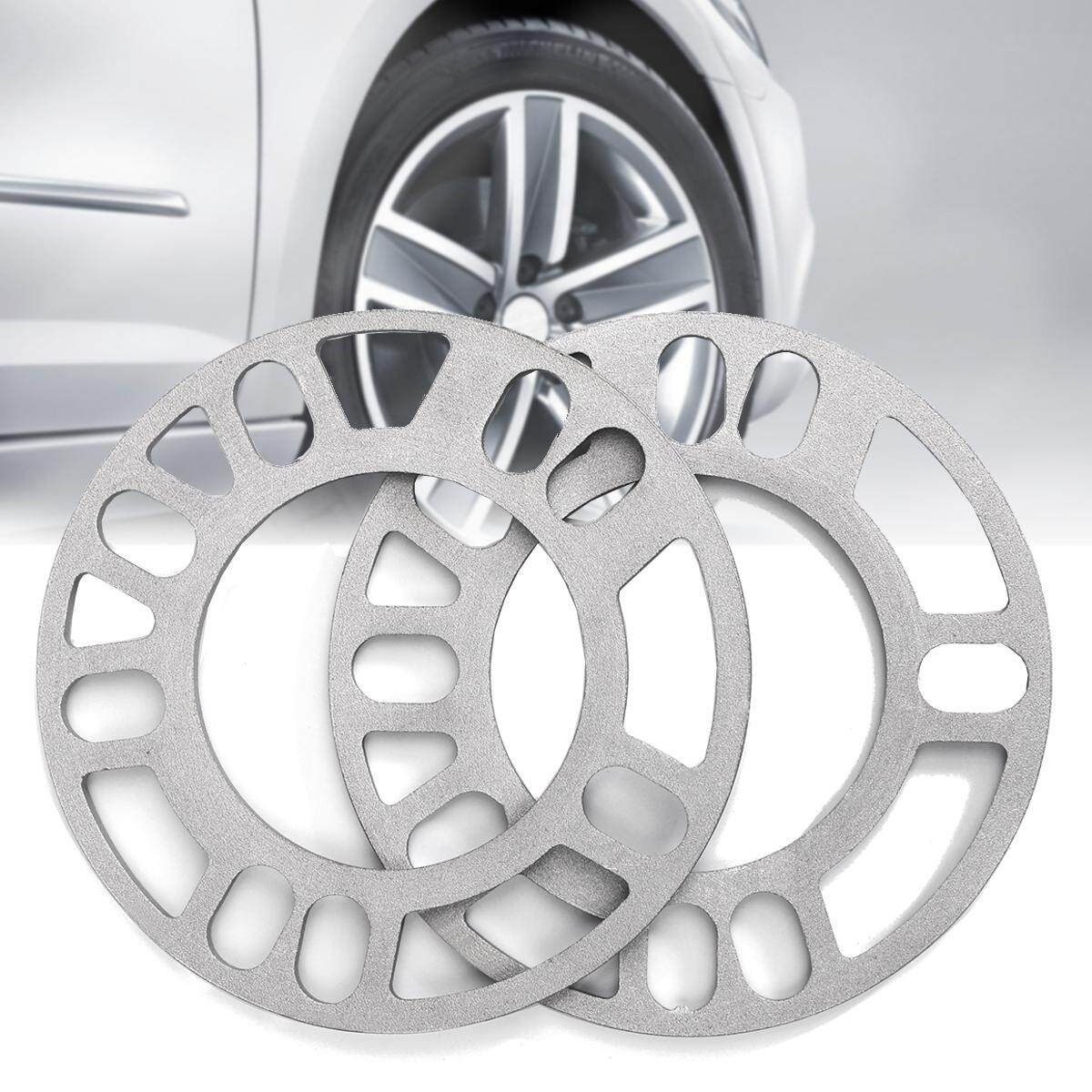 5mm Alloy Wheel Spacer Shims - Universal Full Set Of 4 - 4x100/4x108/4x114.3 By Channy.
