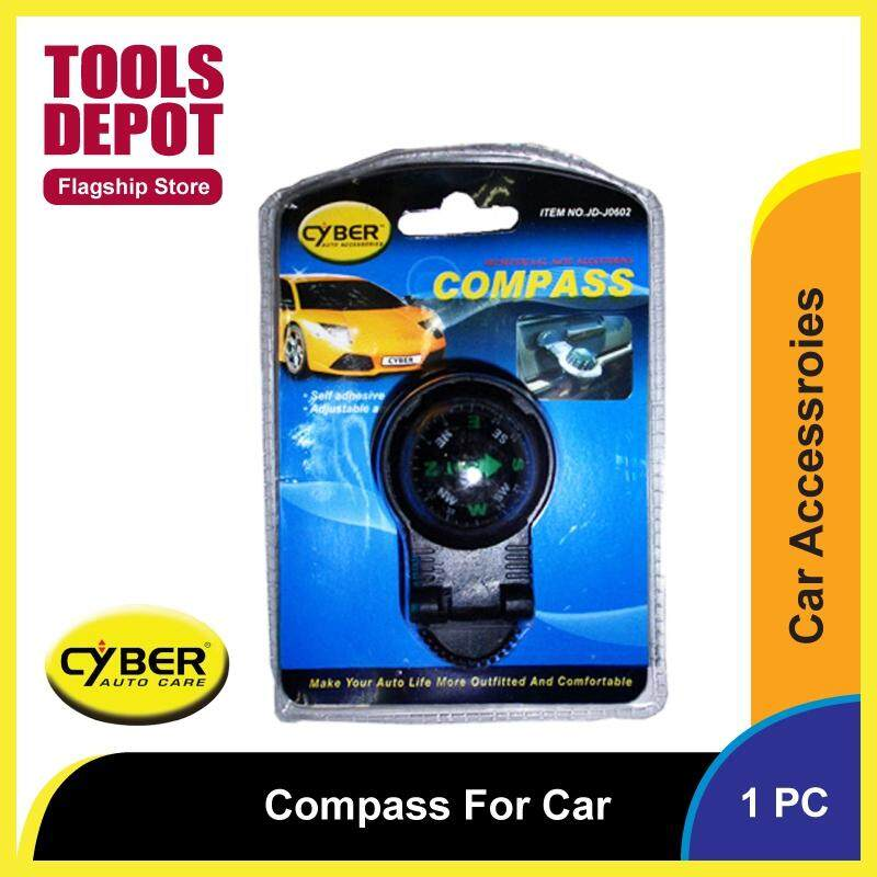 Cyber Compass For Car - 78131 (1pc)