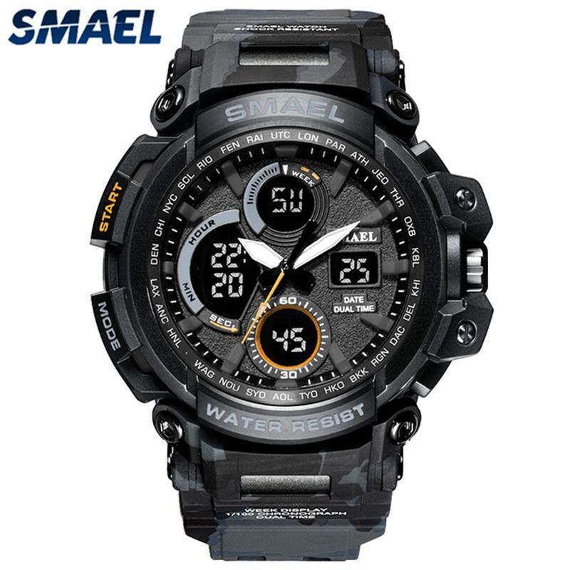 New Fashion SMAEL Brand Men Sport LED Digital Watch Camouflage Military  Quartz Watches Men s Shock Casual 8ca781250127