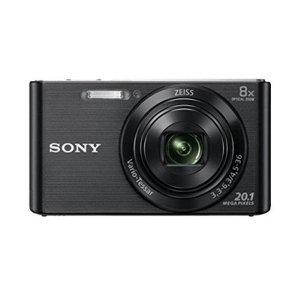 Sony DSCW830 Kamera Saku Digital-Hitam (20.1MP, 8x Optical Zoom) 2.7 Inch LCD