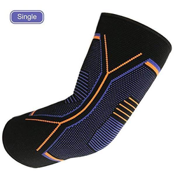 Elbow Brace Compression Support Sleeve -Arm Support for Men and Women Tendonitis, Bowling,Tennis,Weightlifting and Golf Elbow Treatment Prevention and Recovery-Reduce Joint Pain / From USA