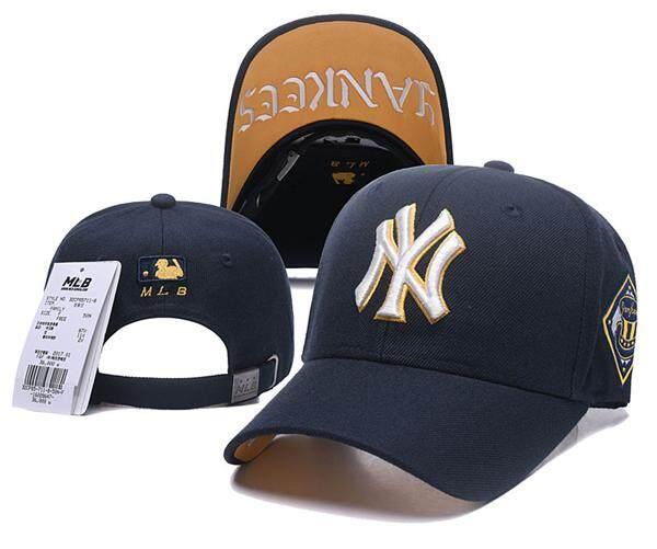 Snapbacks Modis Topi Bisbol Ruang Rajut untuk Pria dan Wanita Pantai Hitam  Asli MLB New York 4f5f3de058