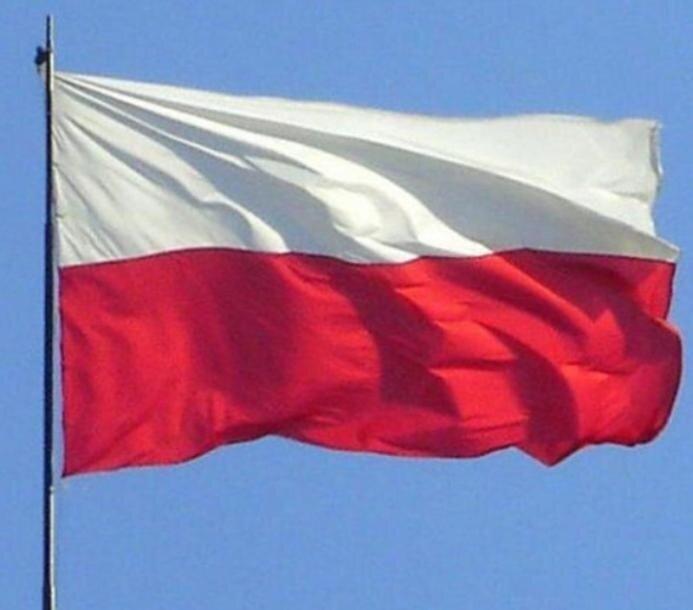 Fanestiy Bendera Polandia dengan Eagle 3X5 Kaki Polandia Banner Lambang Nasional Ensign