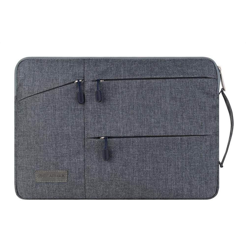 GEARMAX New Laptop Bag case Laptop Sleeve for Macbook air pro pouch bag for Lenovo Sumsung Asus 11 inch bag For Men Woman(Gray) - intl