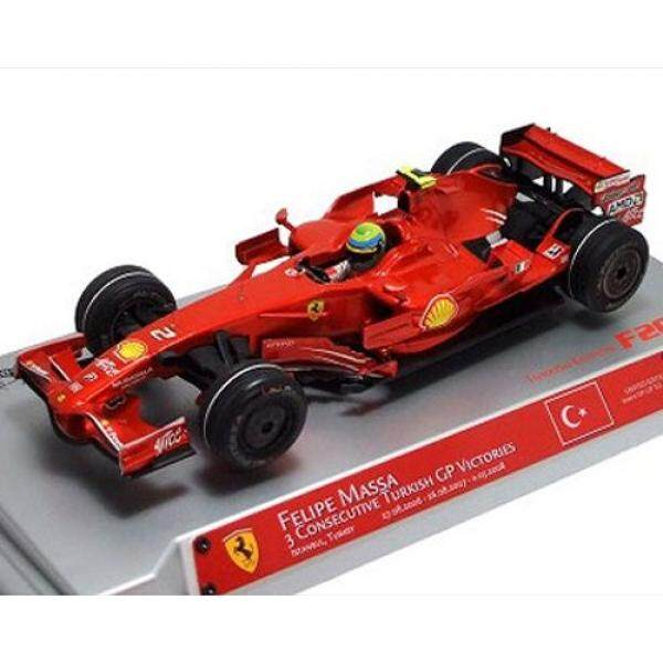 Hot wheels M0550 Felipe Massa Ferrari F1 Hat Trick Turkish GP Formula 1 1/18 Diecast Model Car by Hotwheels / From USA - intl