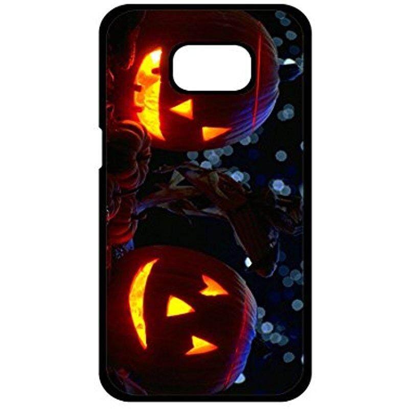 Baru Samsung Galaksi S6 Sisi Case, download Gratis Halloween Pumpkin Desain Anti Guncangan Keras Buah + TPU Bemper Case Menggaruk-Tahan Sarung untuk Samsung Galaksi S6 sisi-Internasional