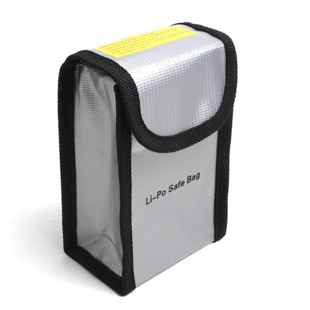 Waldenshop แบตเตอรี่กระเป๋าเก็บรักษาความปลอดภัยชาร์จวิกผมแบบเส้นทนไฟสำหรับ Dji Phantom 3/4 By Waldenshop.