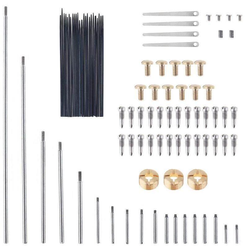 92pcs/lot Saxophone Repair Parts Set Complete Tools Saxophone Key Roller Reed Screws Springs Needle Wind Instrument Repair Kit Malaysia