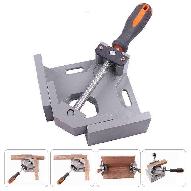 Aluminum Single Handle 90 Degree Right Angle Clamp Angle Clamp Woodworking Frame Clip Right Angle Folder Tool - intl