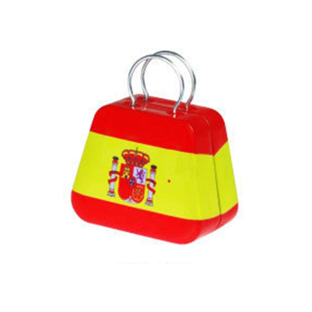 Eachgo Mini Kecil Iron Koin Kotak Kasus Perhiasan Teh Kotak Penyimpanan Permen Container-Internasional