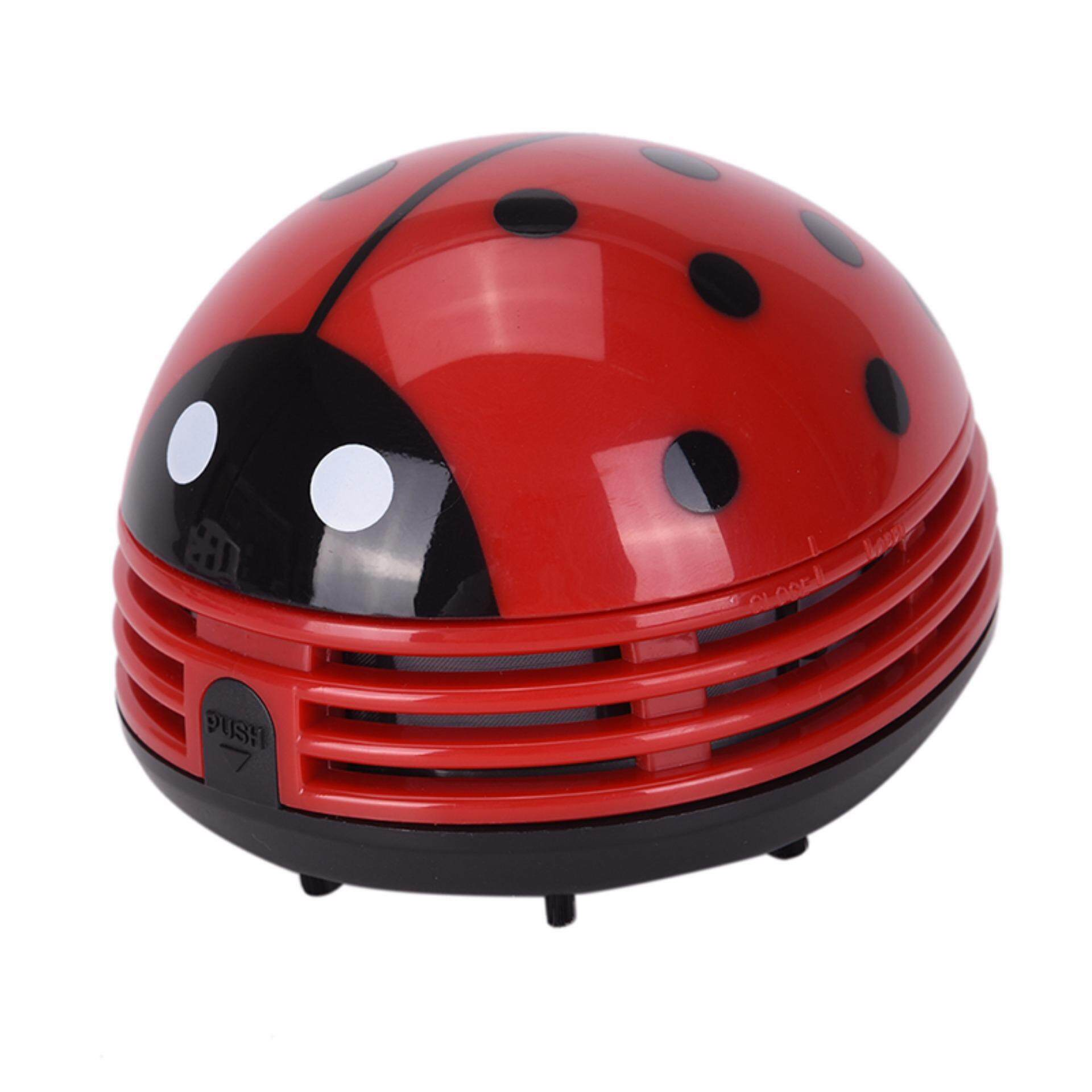 Hình ảnh Mini Ladybug Desktop Coffee Table Vacuum Cleaner Dust Collector For Home Office Ladybug