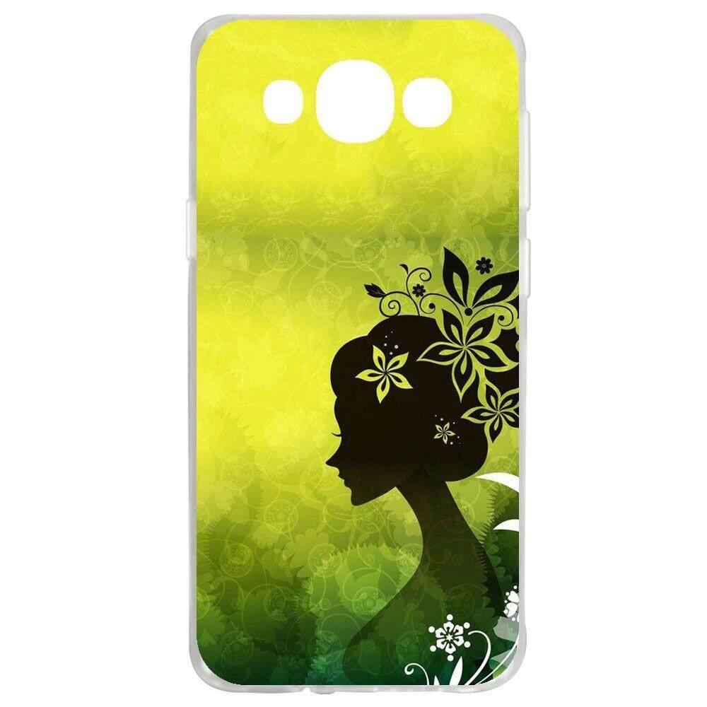 Kualitas Tinggi Gadis Silicon Soft Back Casing Ponsel Cover untuk Samsung Galaxy E5