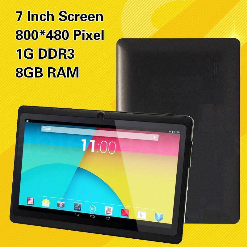Hình ảnh Limited-Time Sale 7'' Inch A33 Google Android 4.4 Quad Core Dual Camera 8GB Tablet WiFi Black