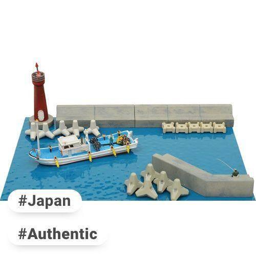 Tomix Tommy Tech Jiokore คอลเลกชันฉากฉากอุปกรณ์เสริม 123 Seaside ฉากชุด B Diorama อุปกรณ์ By Vip Plaza Japan.