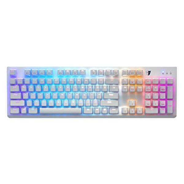 Tesoro Gram SE Spectrum G11UXL Red Optical Switch Single Individual Per Key Full Color RGB LED Backlit Illuminated Mechanical White Gaming Spill Resistant Keyboard TS-G11UXL W (RD) - intl Singapore