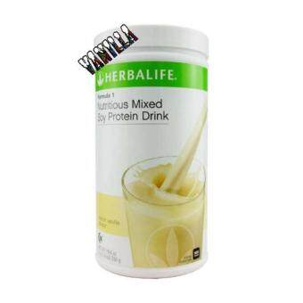 Herbalife Formula 1 Nutritious Mixed Soy Protein Drink- French Vanilla flavour 550g