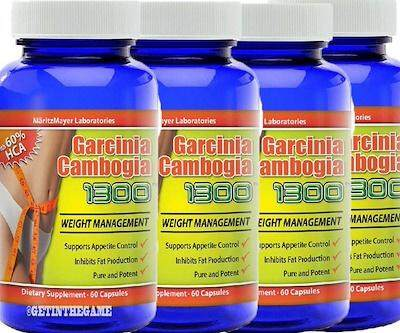 Garcinia Cambogia GC1300 Slimming Weight Loss 60's/bottle