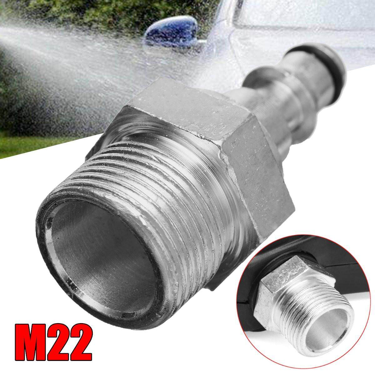 Quick Connection Pressure Washer G un Hose Fitting To M22 Adapter For Lavor VAX
