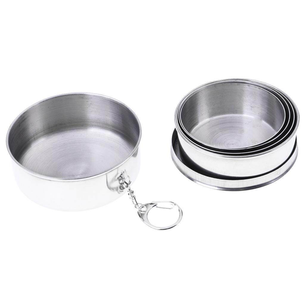 Buy Sell Cheapest Bolehdeals Collapsible Portable Best Quality Stainless Steel Travel Cup Outdoor Camping With Cover