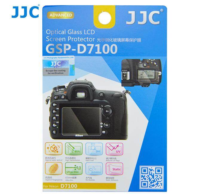 JJC GSP-D7100 Tempered Toughened Optical Glass Camera Screen Protector 9H Hardness For Nikon D7100 , D7200