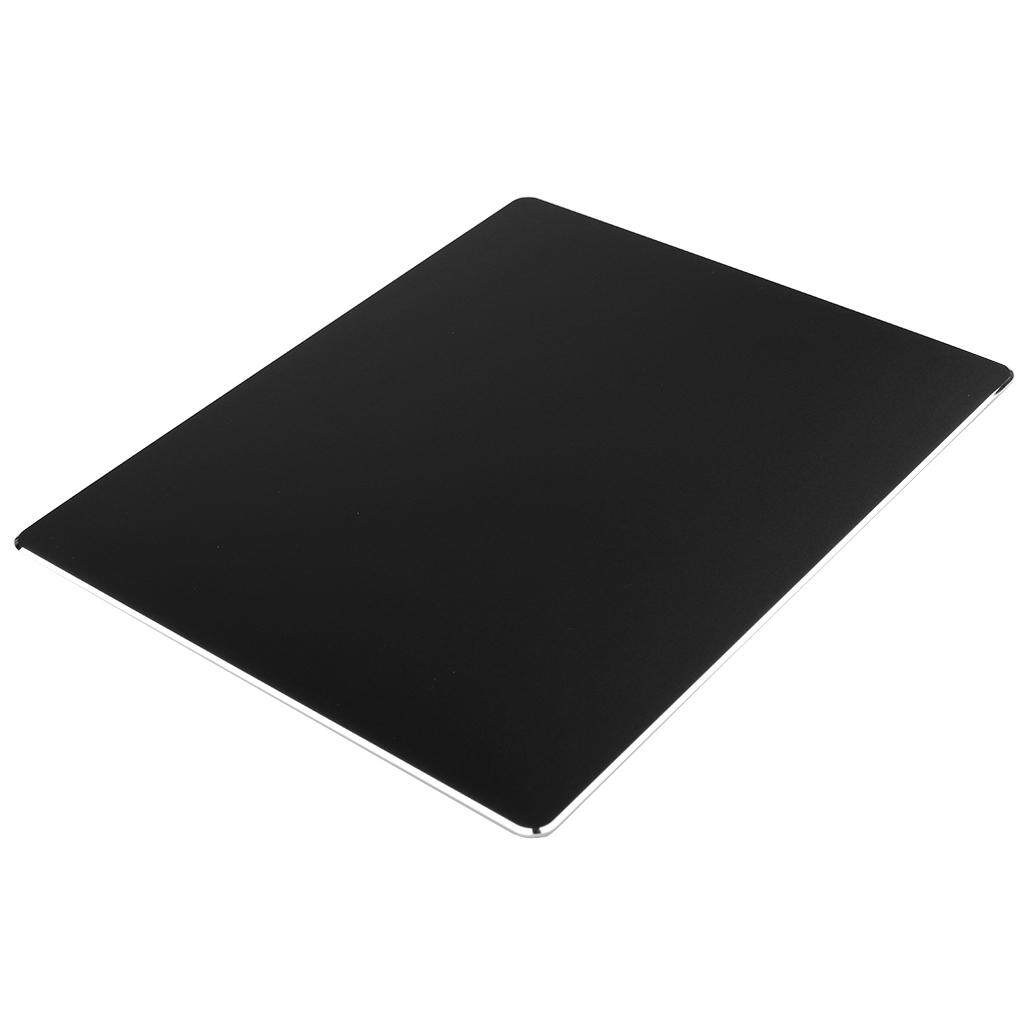 MagiDeal Aluminum Alloy Mousepad Office Game Metal Super Smooth Mouse Wrist Pad Black 300x240mm