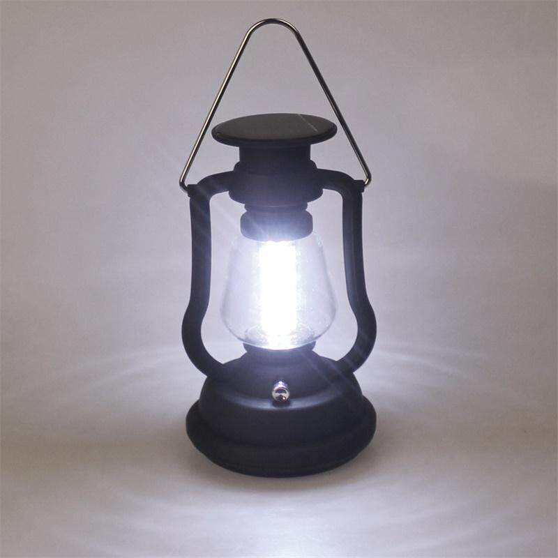 High Power 16 LED Camping Light Solar Camping lantern With Solar Panel Hand Crank Outdoor Portable Lamp For Hiking - intl Singapore