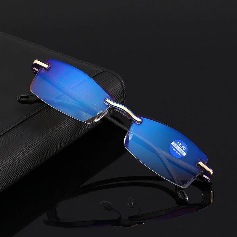 Anti Biru Presbiopia Kaca Mata Baca Optik Kacamata Dengan + 100 By Josejinn.