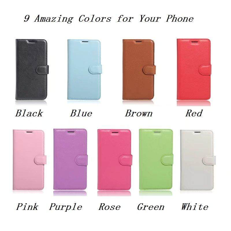 Leather Flip Cover Phone Case Wallet Card Holder For Lenovo A5860 - intl