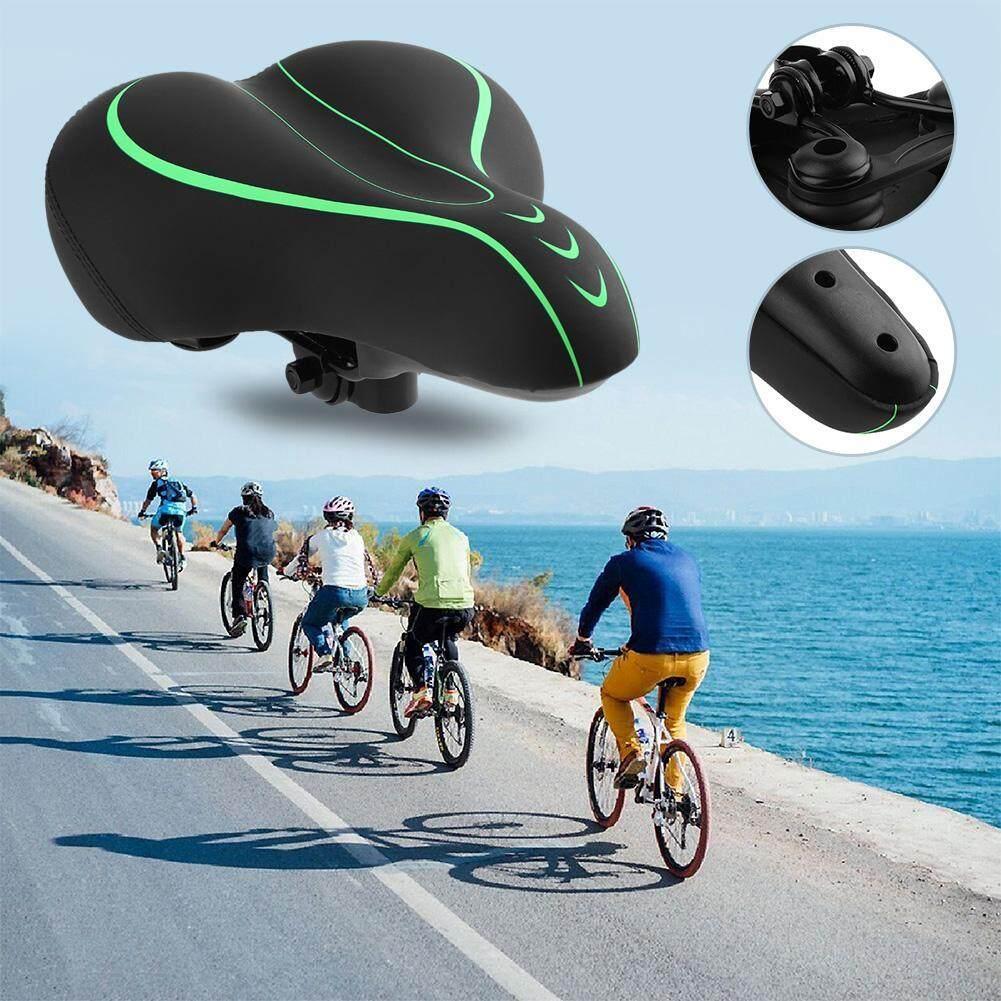 Shock Menyerap Pu Besar Sadel Sepeda Bantalan Kursi untuk Sepeda Gunung MTB-Intl