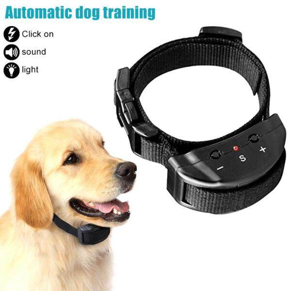 Dog Anti Stop Barking Device Waterproof Repellent Electronic Trainings Collar for Small Medium Dogs - intl