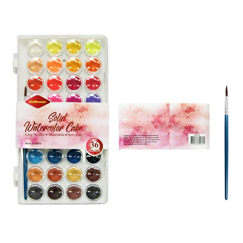 Mua DIÊN QUÂN 36 Màu Sơn Màu Nước Bộ Bọt Biển Hình Tranh Vẽ Đặc Sắc Tố Nghệ Sĩ Trường Nghệ Thuật Nhà Cung Cấp