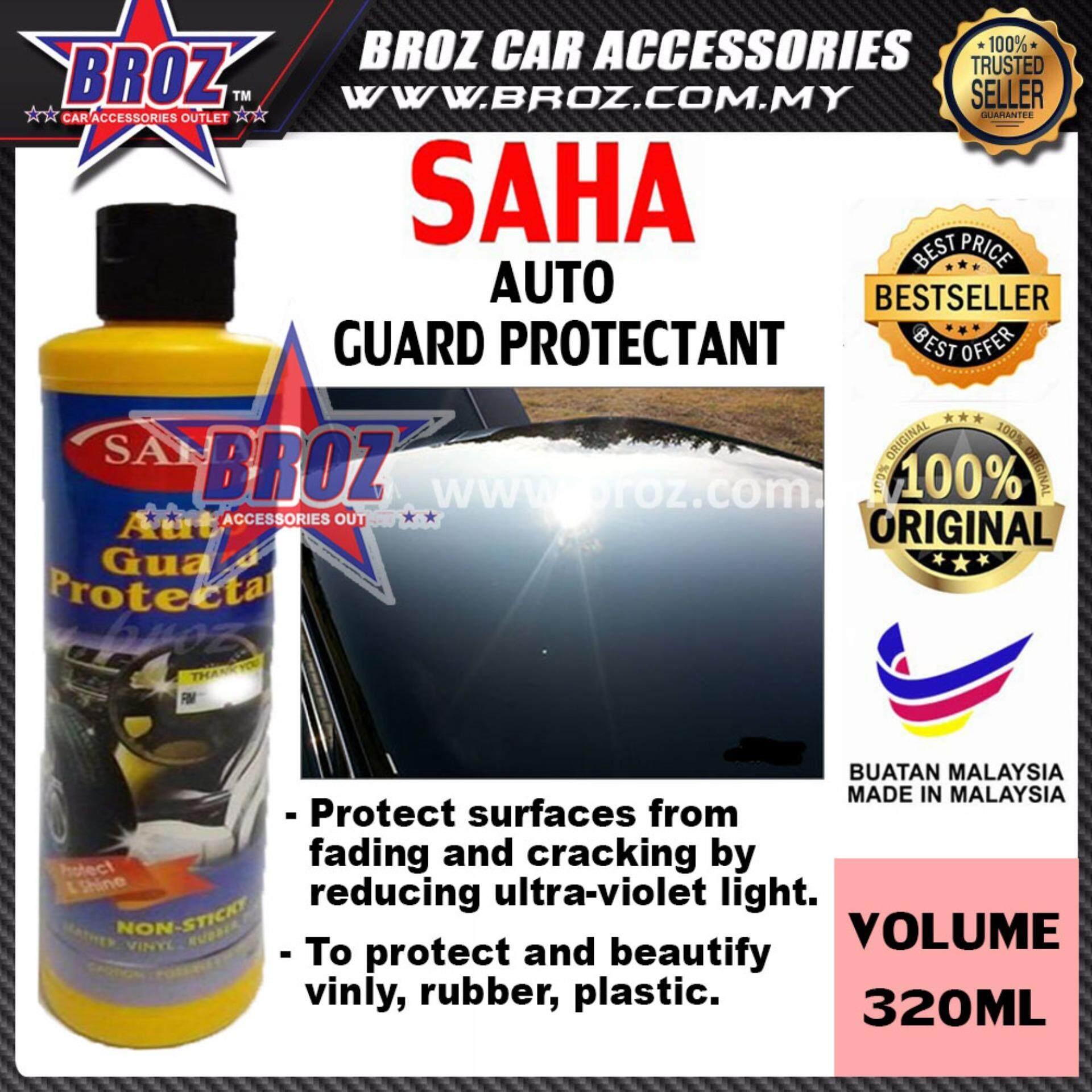 SAHA Auto Guard Protectant Non-Sticky Protect & Shine 320ML