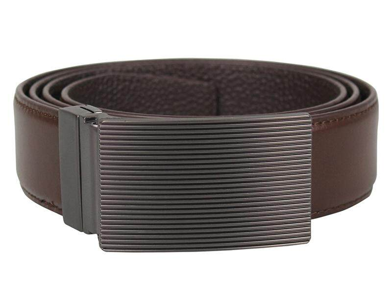 Tomaz 1643 Leather Belt (Coffee)