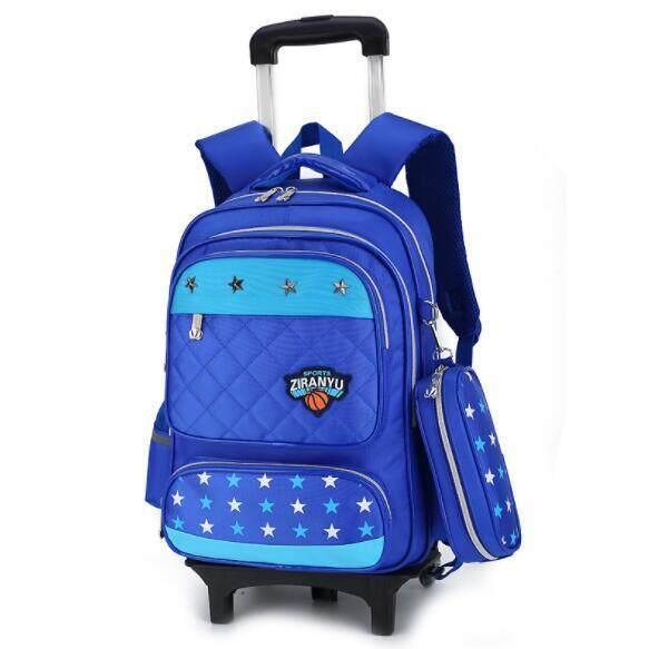 Sinh Viên Xe Đẩy SCHOOL BAG Trẻ Em Rời Backpack OTO2
