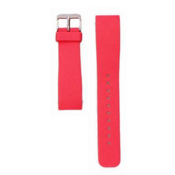 Luxury Silicone Watch Band Strap For Samsung Galaxy Gear S2 SM-R732 Smart watch Colour:Red